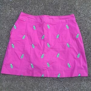 💕SALE💕Lilly Pulitzer Pink Embroidered Skirt